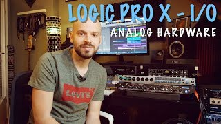 Using Analog Hardware with Logic Pro X - I/O Plugin