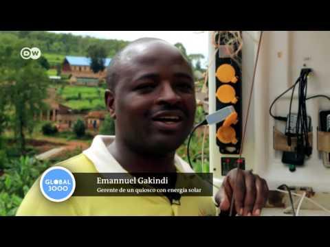 Ideas globales: Ruanda, kiosko solar | Global 3000