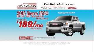 Fairfield's Cadillac Buick GMC Keene, NH April 2015 Commercial
