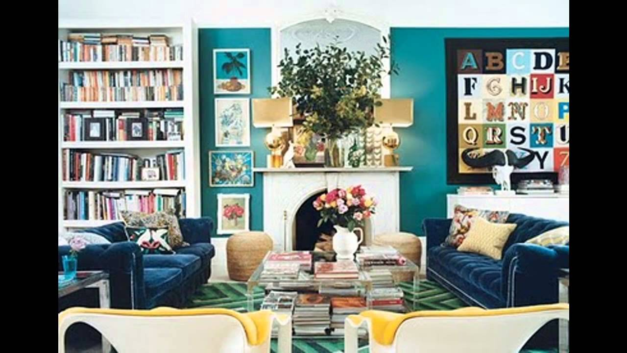 Beautiful Teal Living Room Ideas