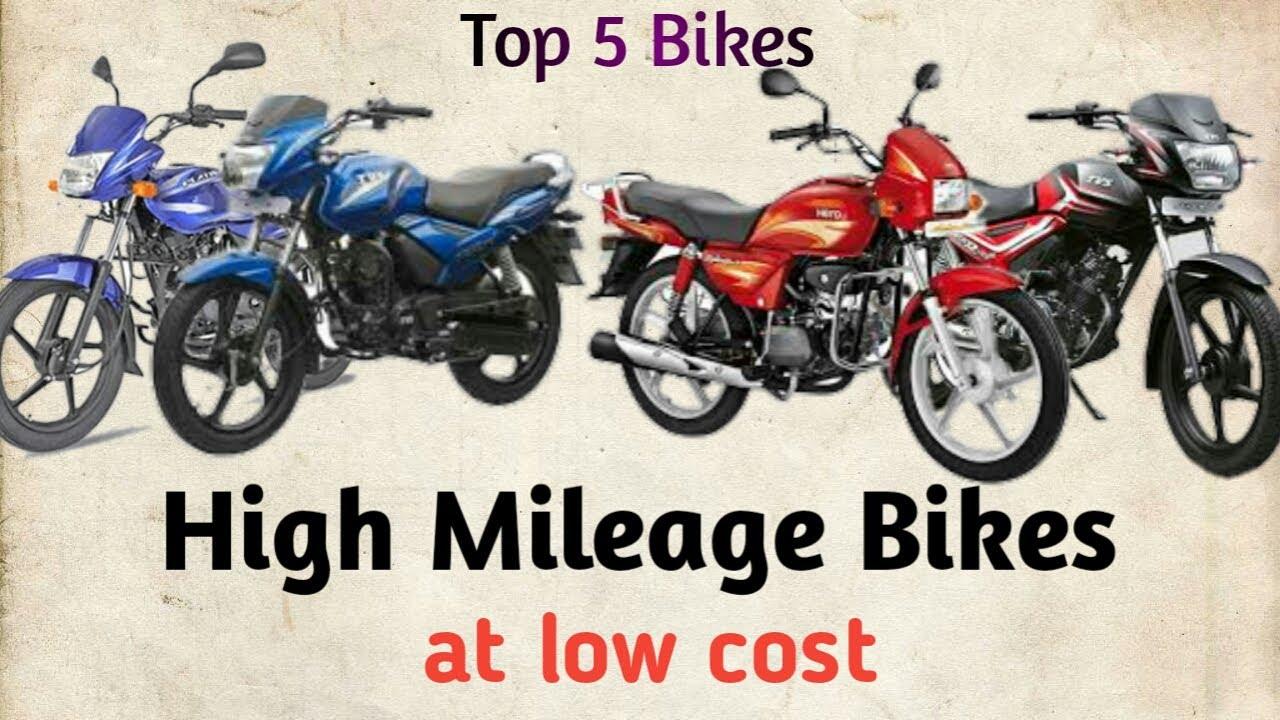 High Mileage Bikes in india | Top 5 Bikes with genuine Mileage in telugu 2020