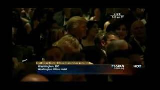 President Obama Roast Donald Trump About Birth Certificate & Celebrity Apprentice