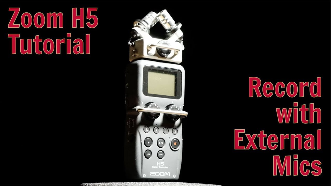 Zoom H5 Tutorial – Recording with External Mics – Stories21