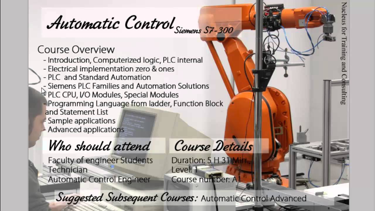 PLC Training Course Controls And Automation
