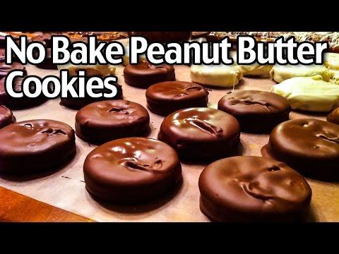 3 Ingredient No Bake Peanut Butter Cookies