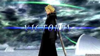 DISSIDIA FINAL FANTASY Cloud VS Sephiroth Jenova AC