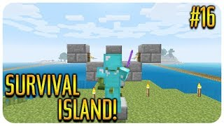 ✅ MINECRAFT - SURVIVAL ISLAND - THE ZOMBIE CURE! Episode 16 thumbnail