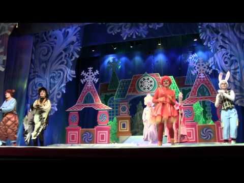Детский  спектакль Сказка с далекой планеты в ТЮЗе