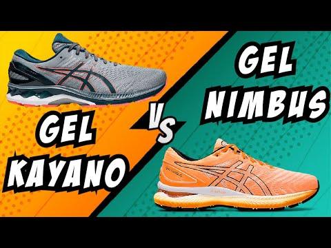 ASICS GEL KAYANO 27 VS NIMBUS 22 - YouTube