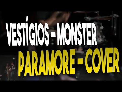 Banda vestígios Café etílico. Monster - Paramore (Cover) AO VIVO