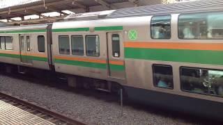 池袋駅出発の湘南新宿ラインE233系(動画シリーズ) thumbnail