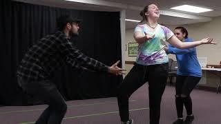 Drama Retreat 2018 - Aaron, Caroline, Michaela
