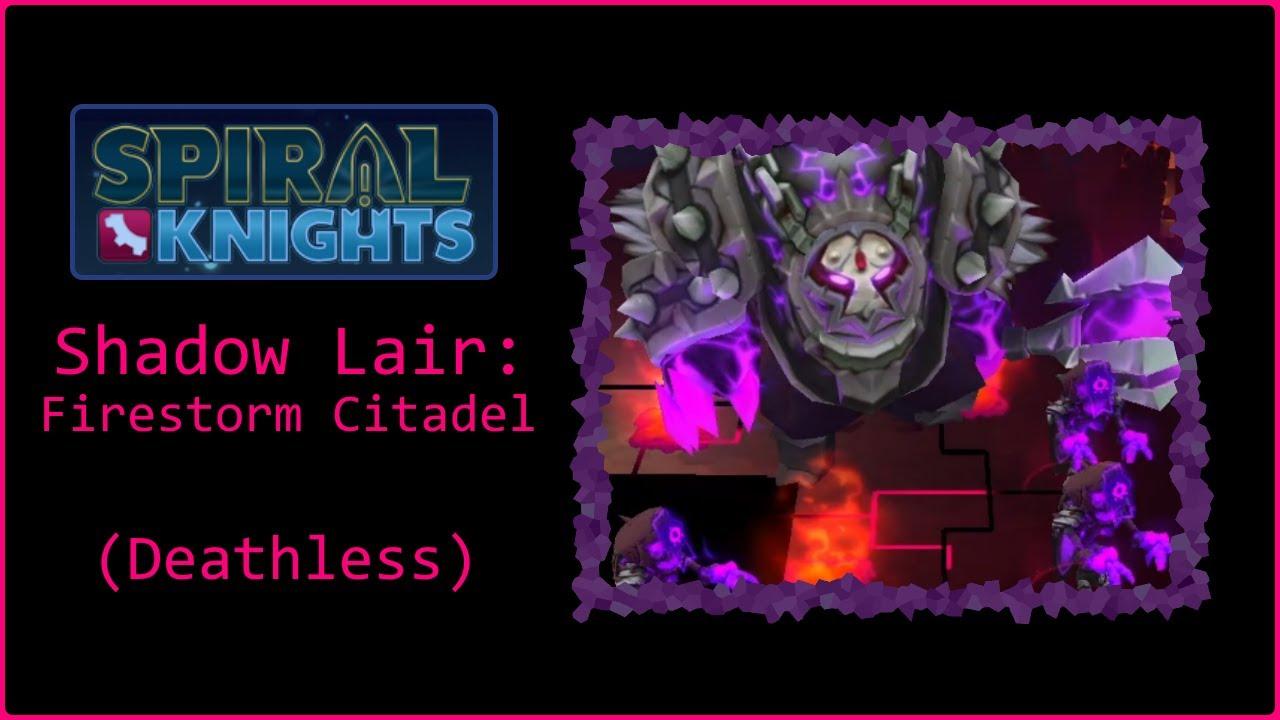 Download Spiral Knights - Shadow Lair: Firestorm Citadel (Solo, Elite, No Deaths)