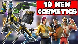 19 NEW LEAKED Cosmetics Coming To Fortnite With V5.1! (Skins, Gliders, Backbling, Pickaxe & More)