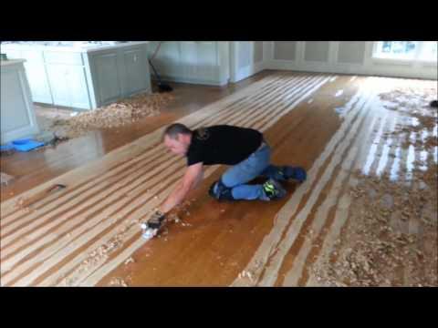 Hand Scrape Your Hardwood Floors