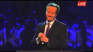 The Prime Minister of Great Britain ( David Cameron ) at RCCG Festival of Life London April 2015