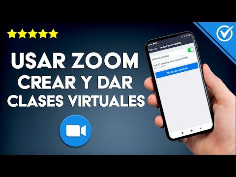 Cómo usar Zoom para Crear y dar Clases Virtuales Fácilmente