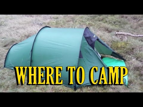 Wild Camping Scotland - WHERE TO CAMP (5)