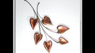 Edged Copper Leaf