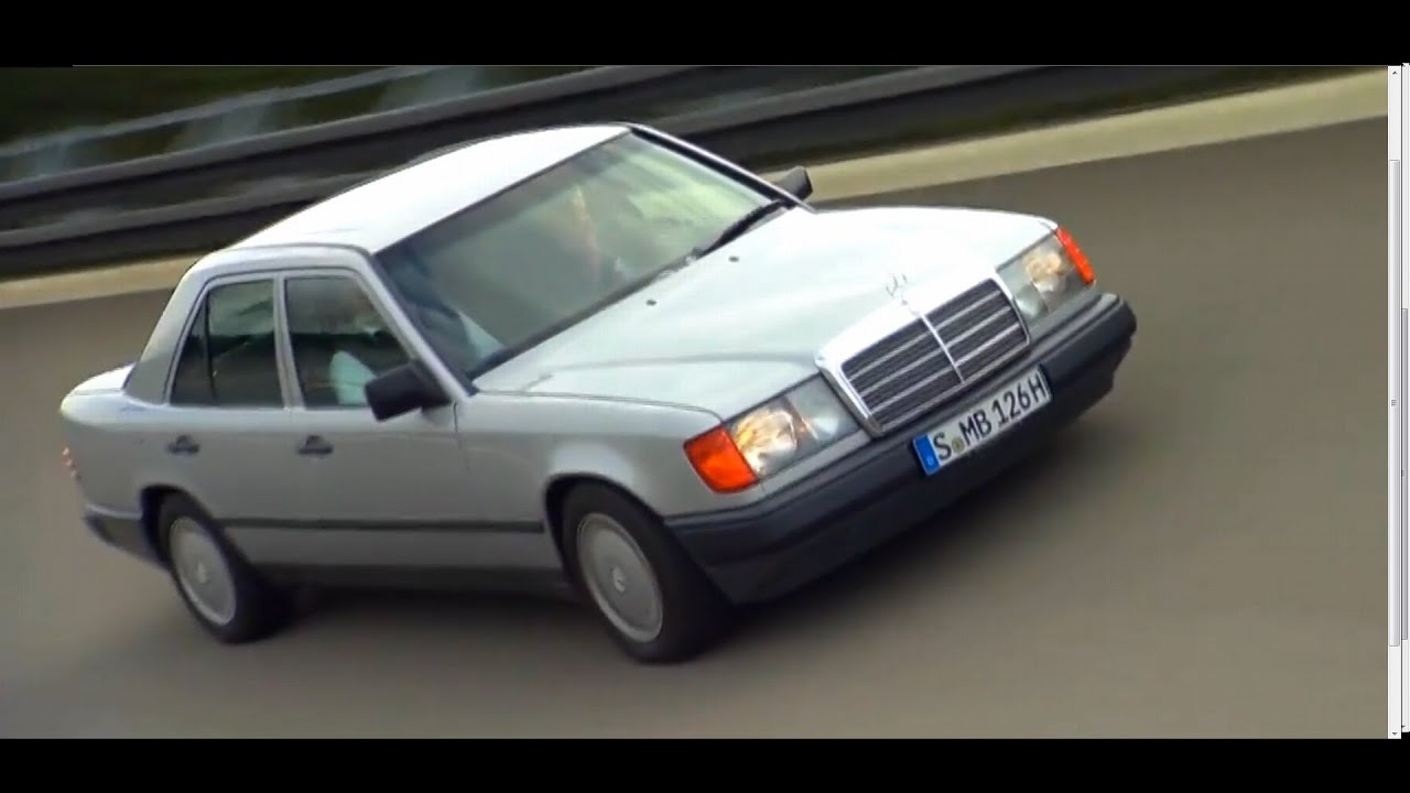 Mercedes-Benz E-Class W123 And W124 Road Trailer