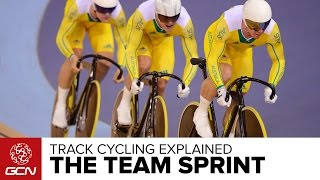 The Team Sprint Explained – GCN's Guide To Track Cycling