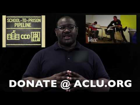 ACLU Announces The End Of  & School-To-Prison Pipeline