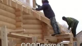 Строительство дачи из сруба(, 2013-08-14T16:05:20.000Z)
