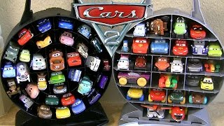 NEW Pixar Cars Garage Storage Carry Case Stores 33 Cars - Disney Planes Fire & Rescue 2014