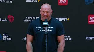 Dana White discusses UFC 251 success, upcoming fights and growing the UFC brand
