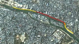 Berges de la Seine rive droite : la voie Georges Pompidou va être piétonnisée