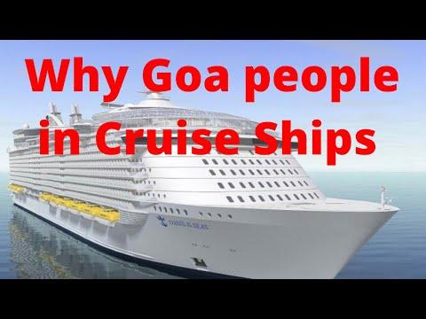 Why Goans In Cruise Ships