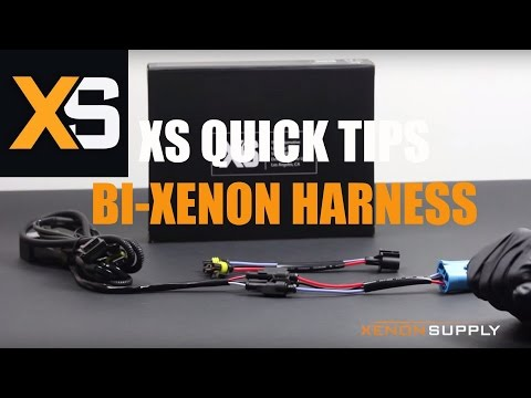 XS HID Quick Tips: Bi Xenon Harness Configuration