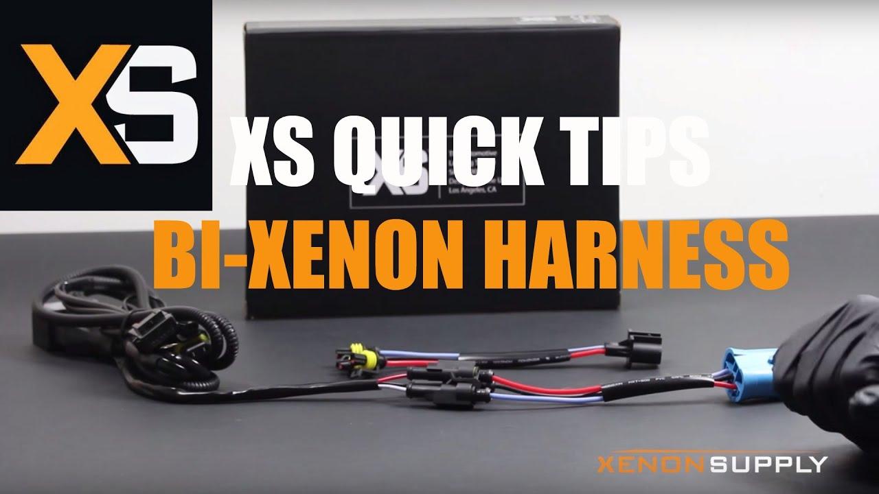 Xs Hid Quick Tips Bi Xenon Harness Configuration Youtube Wire