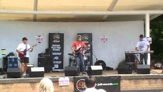 Nosey Parker Live on The Jelli Records Bandstand Stage @ The Keynsham Music Festival 2014