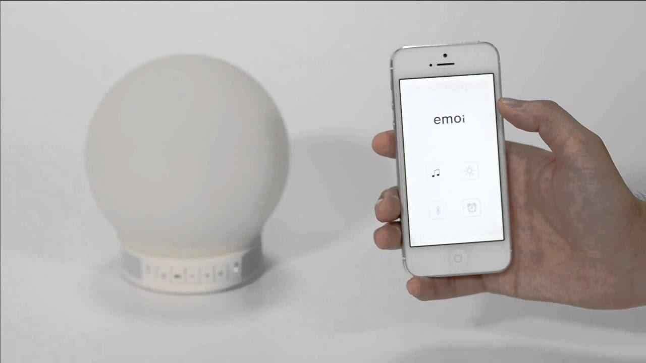 emoi smart lamp speaker instruction youtube