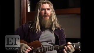 Chris Hemsworth Sings As 'Fat Thor'