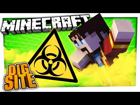 P GAS EVERYWHERE! | Minecraft Dig Site #9
