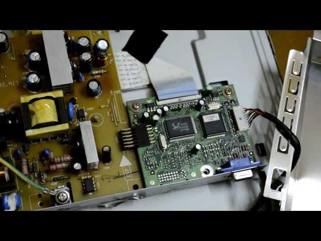 Ремонт LCD монитора BenQ