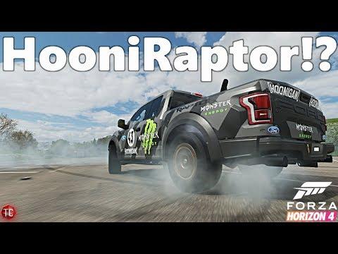 Forza Horizon 4: Building The HooniRaptor