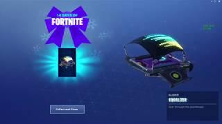 Fortnite # Free # Disco Glider (14 days Challenge)