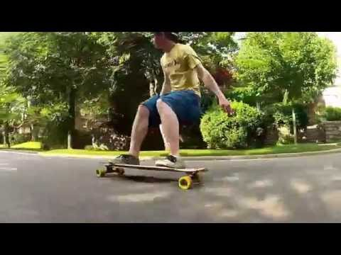 Longboarding in Forest Hills NY