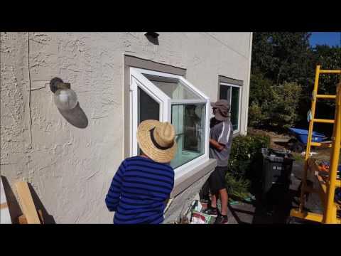 Installing a new Garden Window