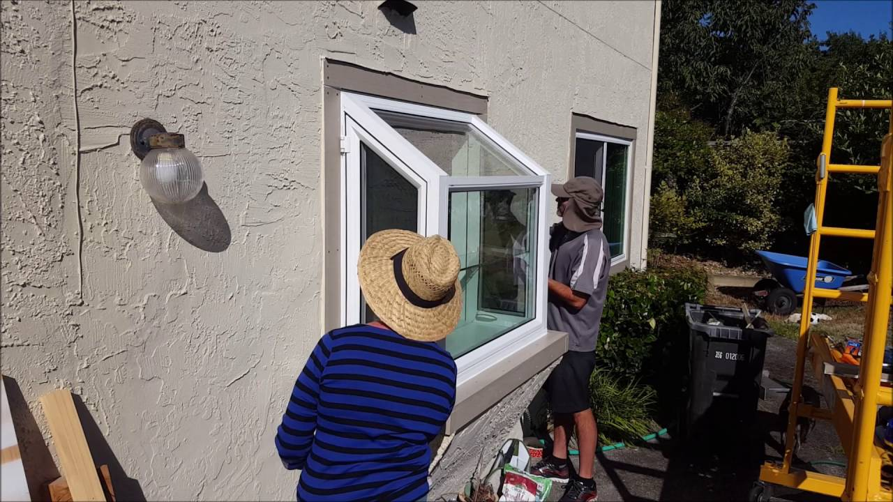 Installing a new Garden Window YouTube