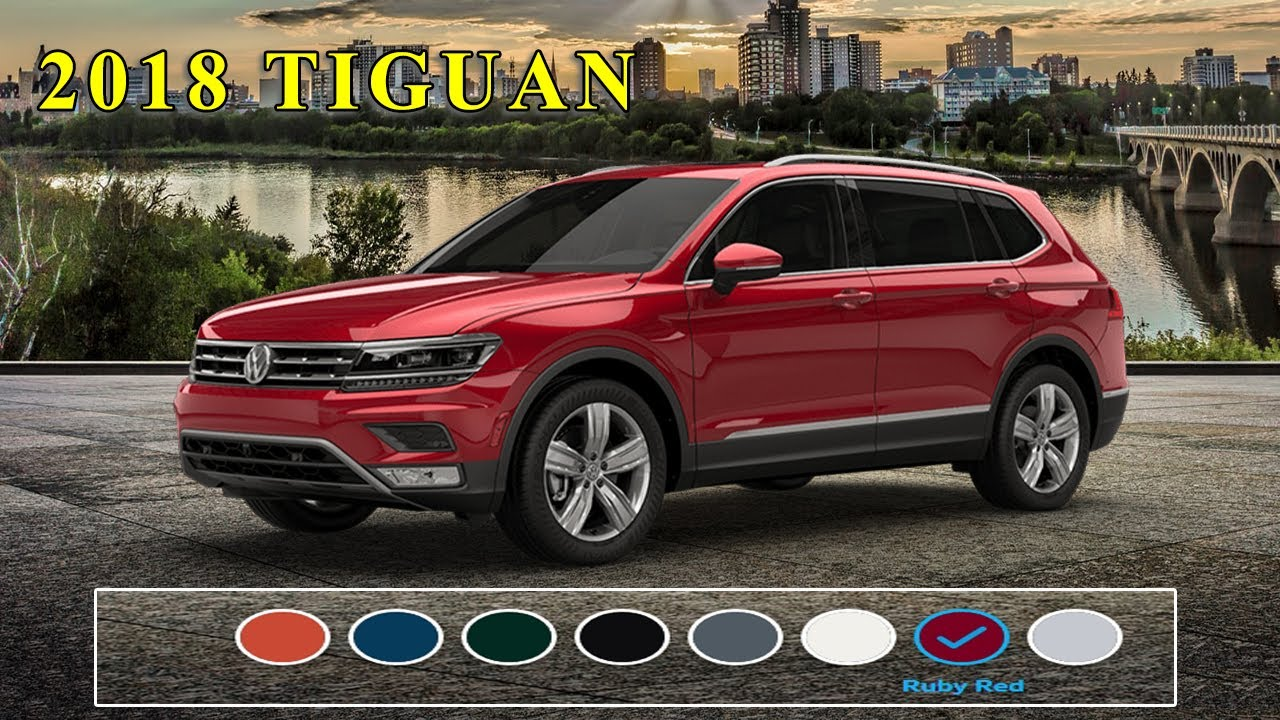 2018 Volkswagen Tiguan Colours Us Model