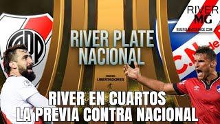 River en cuartos: La previa vs Nacional