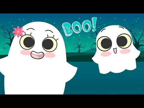 Baby Ghost Family Halloween | Kids Halloween Song | Music for Kids