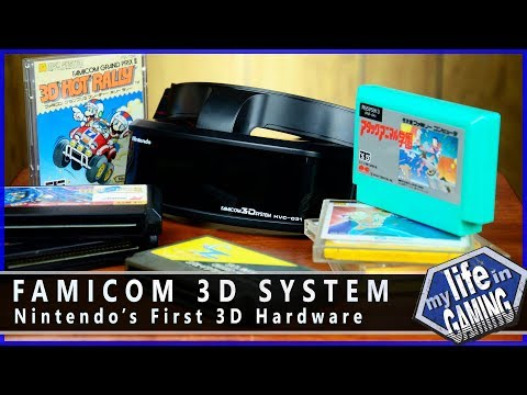 Famicom 3D System - Nintendo's First 3D Hardware / MY LIFE IN GAMING