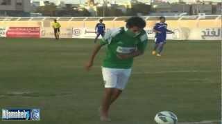 مشجع أهلاوي ينزل الملعب ويقوم بحركة فيكتور سيموس