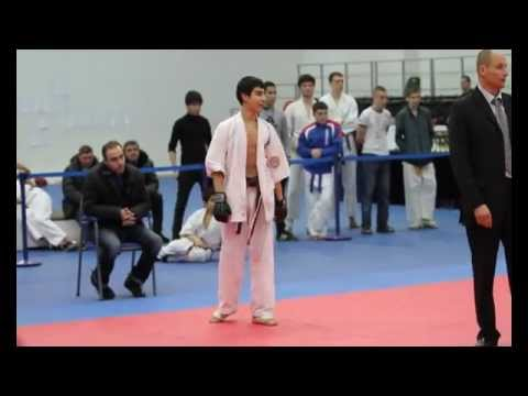 Open superiority of the central federal district ASHIHARA karate MOSCOW 18-03-2012