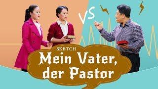 Sketch der Christliche Kirche | Mein Vater, der Pastor | Eine familiäre Debatte über die Bibel